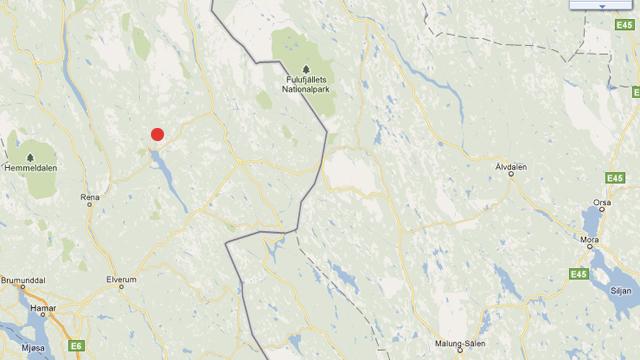 Här angrep tre vargar norsk motionär