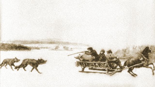 Målning av Fritz von Dardel 1849