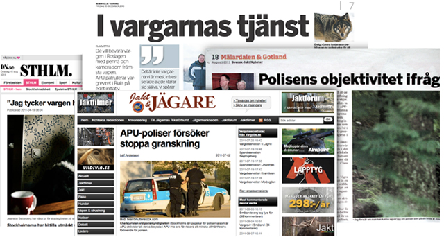 Fyra tidningar skriver om APU.