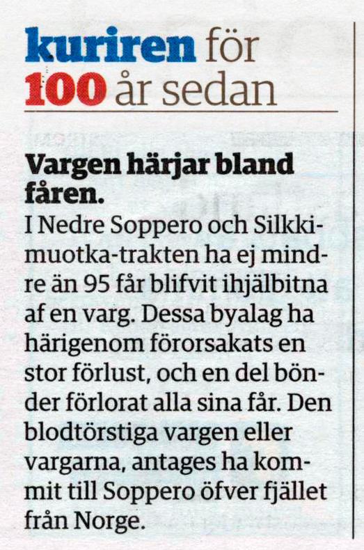 Norrbottenkuriren den 10 september 2011