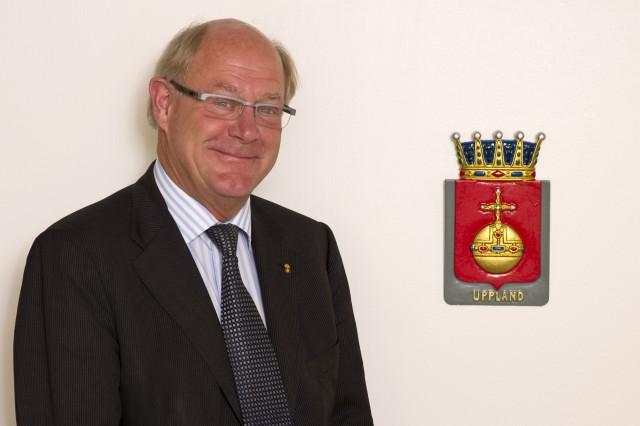 Peter Egardt, Landshövding i Uppsala Län
