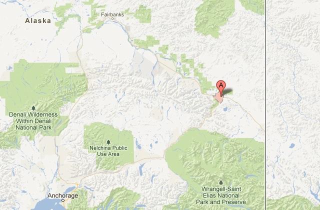 Skoterförare angripen av varg Alaska