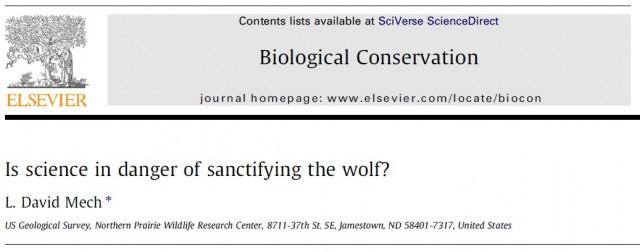 vargen påverkan på ekosystemet