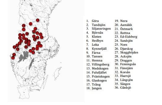 36 vargföryngringar 2012