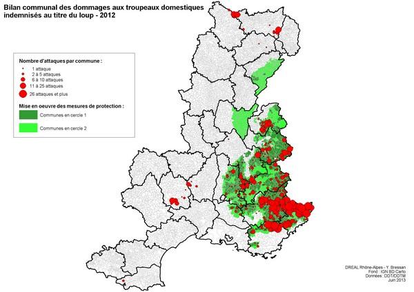 registrerade vargangepp i frankrike