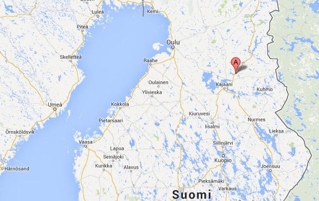 vargdöda hund ristijärvi finland