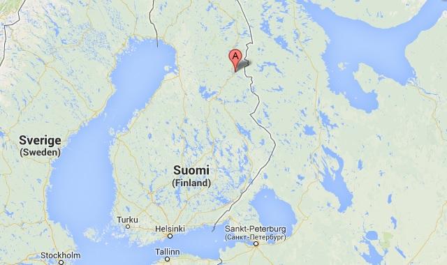 älghund dödad av varg finland