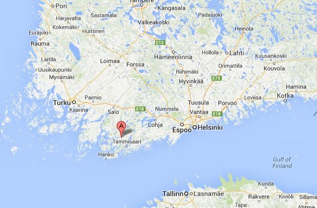 dagisbarn fick stanna inne efter vargobservation finland