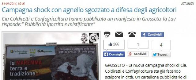 kampanj mot varg i italien