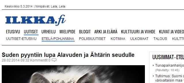 tillstånd att avliva närgången varg finland