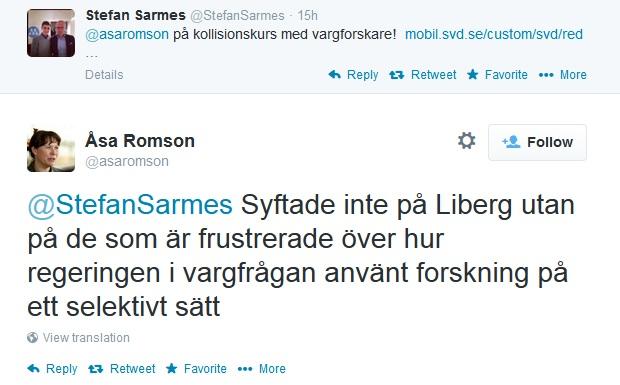 Åsa Romson kommer med förklaring kring uttalande