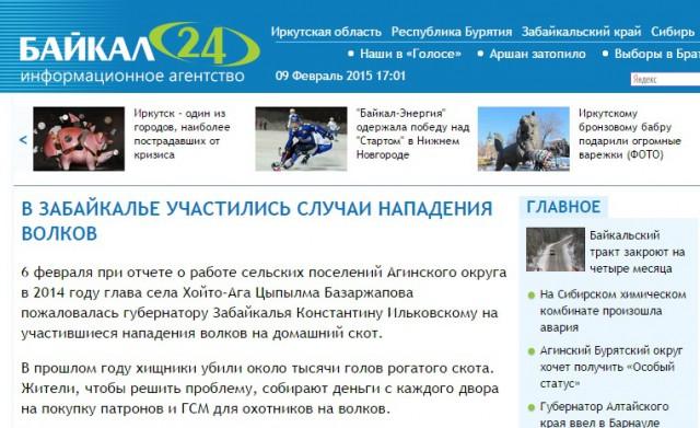 1000 nötdjur vargdödade ryssland
